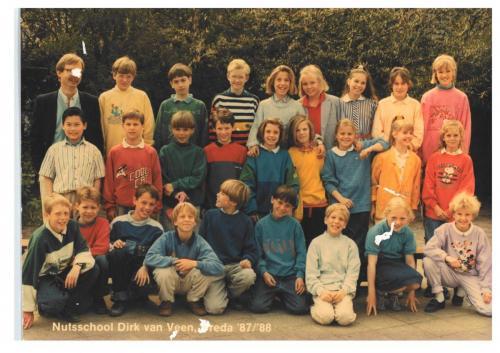 groep 6 1987-1988