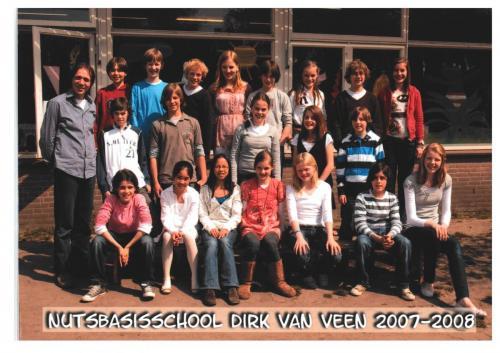 groep 8 2007-2008