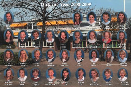 groep 8 2008-2009