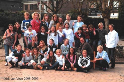 groep 8 2008-2009 (2)