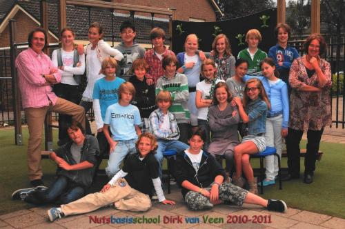 groep 8 2010-2011
