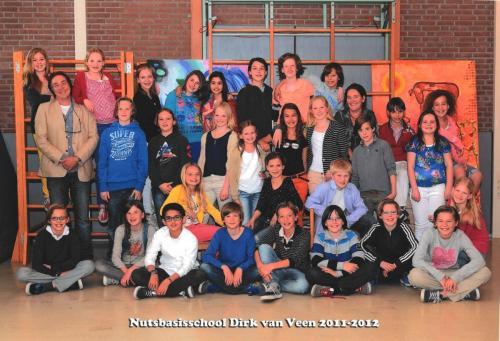 groep 8 2011-2012