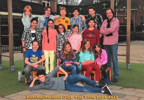 groep 8 2012-2013
